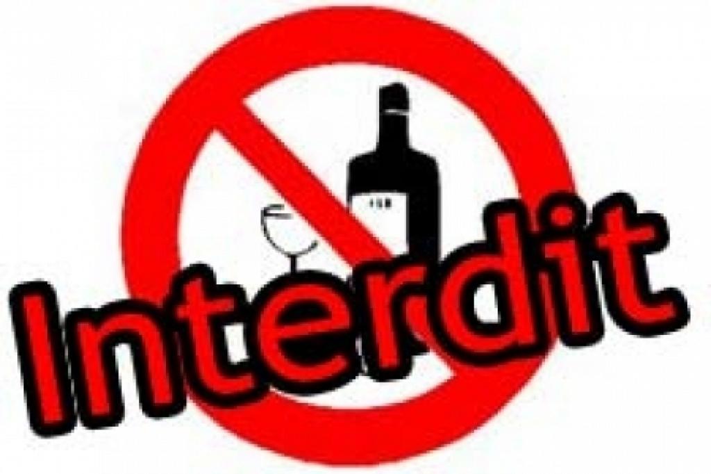 """Résultat de recherche d'images pour """"alcool interdit"""""""